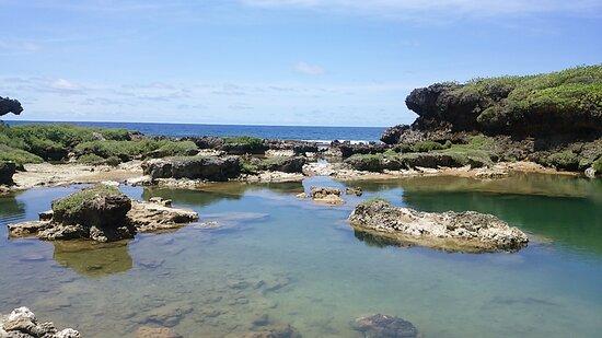 Inarajan, Ilhas Marianas: イナラハン天然プール