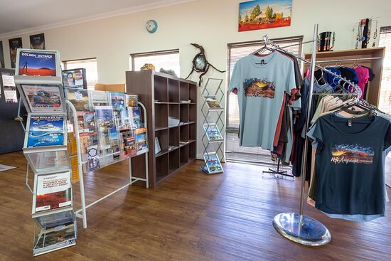 Gascoyne Junction, Australia: Pick up your souvenir to remember your wander outback.  TShirts, Stubby Holders, Bumper Stickers, Books and More.   Pick up a HEMA Map or Guide Book to keep planning your adventure.