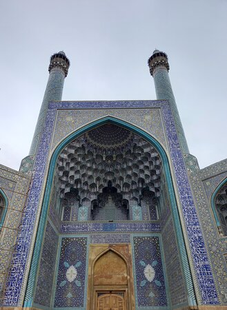 Província de Ispaão, Irão: Hi, Here is the Jameh Mosque of Isfahan in Iran , also known as the Atiq Mosque and the Friday Mosque.. It's so amazing👌 Hope to see you and have a good time in our city❤