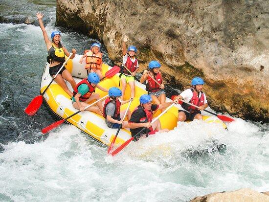 Enjoy the rapids
