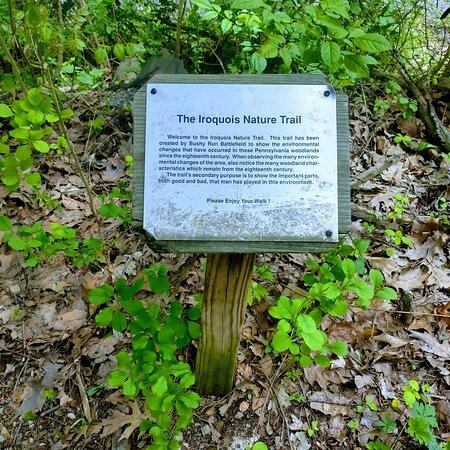 Trail photos at Bushy Run State Park