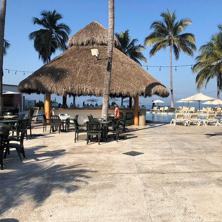 Relax en la playa 🏖 pelícanos club hotel 🏨😎🤗
