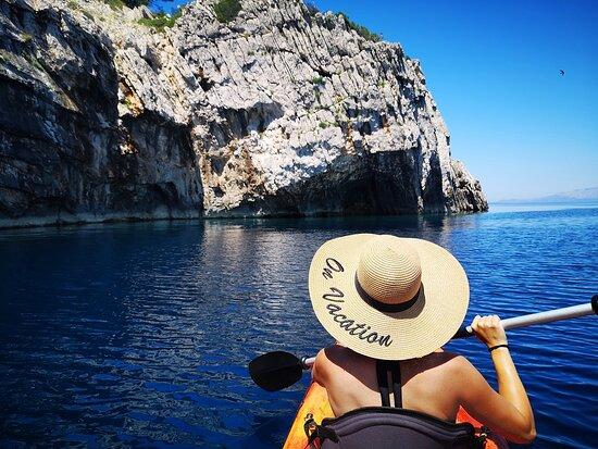 Mljet National Park, Croatia: On vacation .... Kayaking