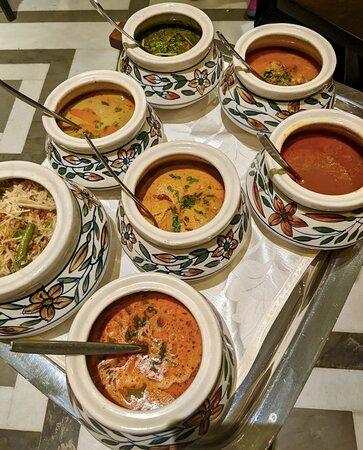 Awadhi dinner