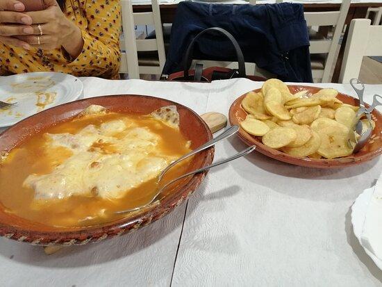 Lordelo, Portugal: Bife à Trepo