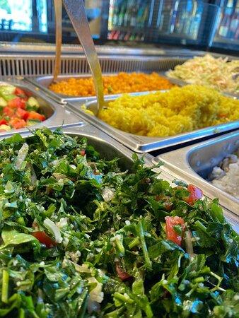 Nothing like a FRESH Salad Bar! <3