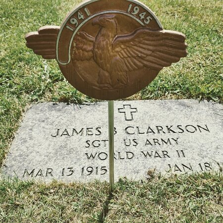 James Buster Clarkson(March 13, 1915 – January 18, 1989), better known asBusterorBus Clarkson, was abaseballplayer who played briefly in themajor leaguesand had a long career in theNegro leagues, theminor leagues, and thePuerto Rican Professional Baseball League.[1]He is also known asBuzz.    Buster is buried at Brush creek cemetery