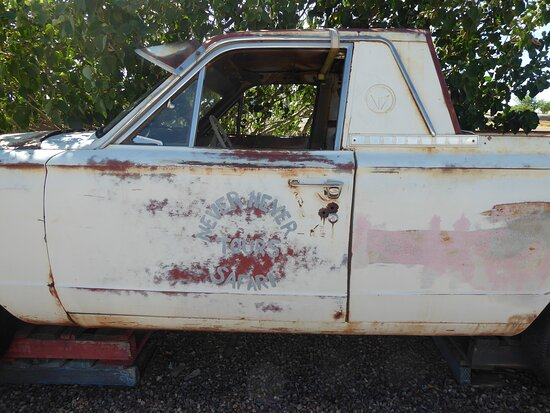 McKinlay, Austrália: The car they drove in the movie