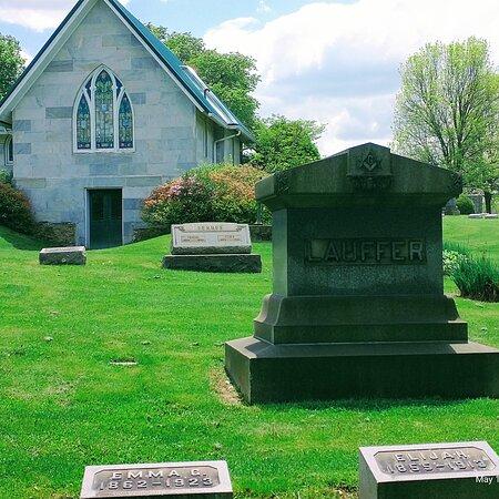 Historical Brush creek cemetery