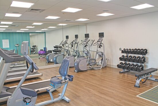 24 HR Fitness Room at the Holiday Inn Express St. Louis South I-55