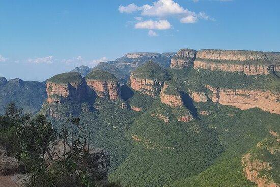 Visite panoramique 3D et 2N et safari dans le parc national Kruger...
