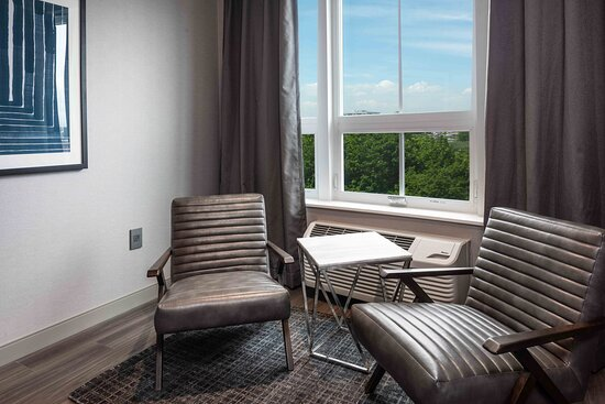 Enjoy the stylish & spacious living area in our largest suite.