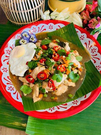 Pad Kra Pao with chicken