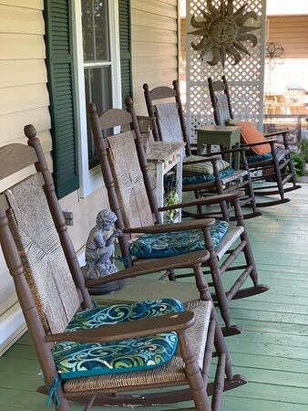 The porch!