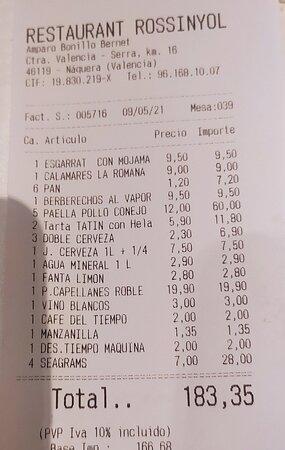 Paella excelente