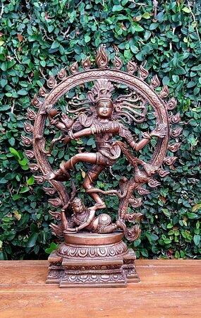 Shiva Nataraja de bronze