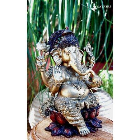 Ganesha de bronze