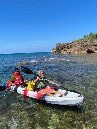 Tambobong Adventure Tour @Dasol Pangasinan Philippines. No need to rush! Take your time to make detours, take photos, our tandem kayak.