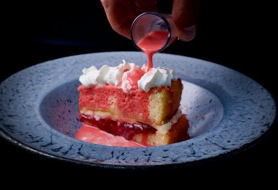 #Rosemilkvictoria cheese cake