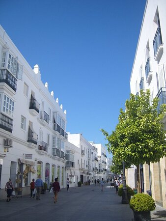 Streets around chiclana