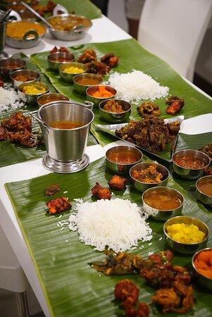 Thali spread