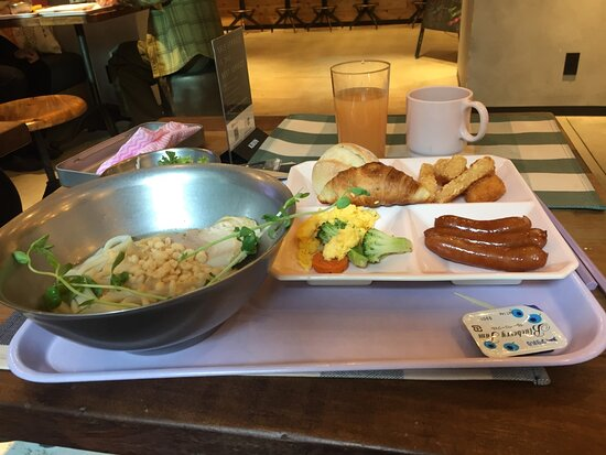 麺類朝食は👍