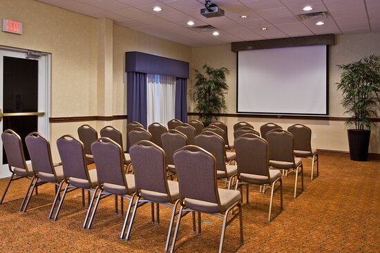 The Theater Style setup can fit up to 60 people.