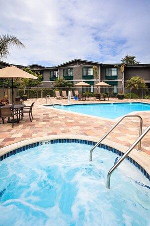 Outdoor Heated Pool & Spa