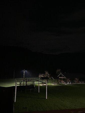 Ночью включается легкая подсветка !