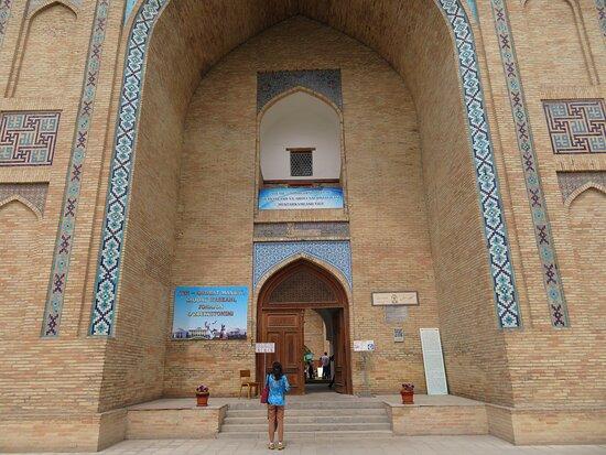 UZ: Tashkent; Kukeldash Madrasah, Eingangsbereich