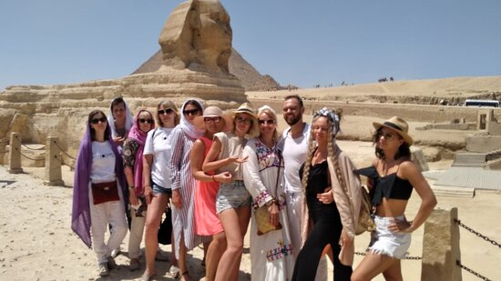 Giza Governorate, Egypt: Our group from Ukrain in egypt