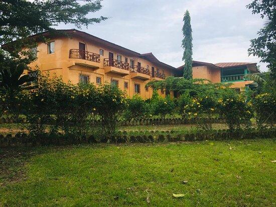 Ganta, Liberia: Image of Peace Empire Hotel
