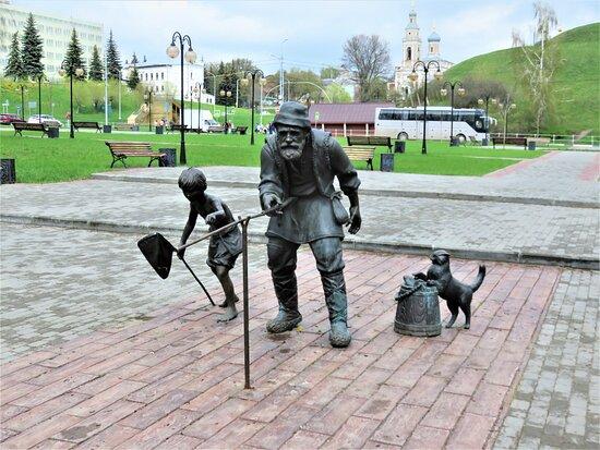 Sculpture Fishermen