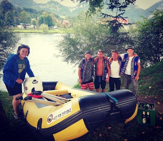 Rafting Oravec Dunajec Pieniny