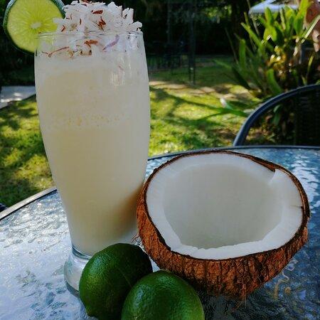 Limonada de Coco, para refrescar las tardes de verano llega nuestra bebida con productos locales y super refrescante. #Tesalia