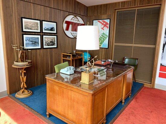 Howard Hughes' office