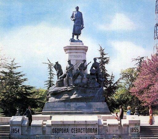 Monument E.I. Totlebenu