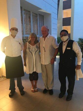 Staff at Toscana