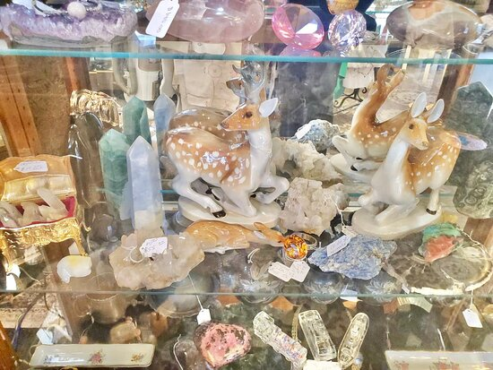 Jewelry, rocks, crystals