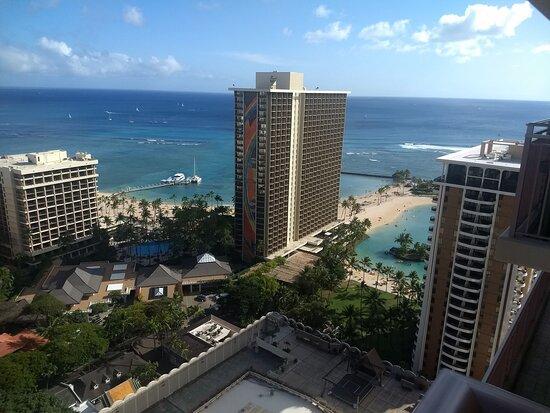 view from room 3219 Grand Waikikian Tower