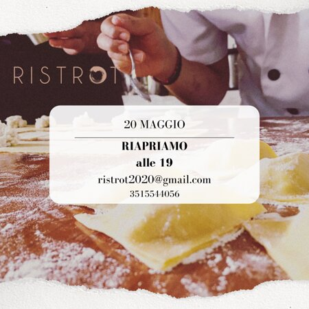 20.05.2021 from 7pm RISTROT opens for a new adventure