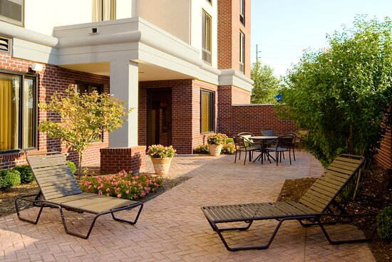 Enjoy the Afternoon Sun on the Outdoor Patio