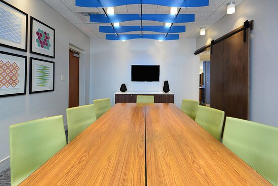 Book our semi-private board room for your next meeting!
