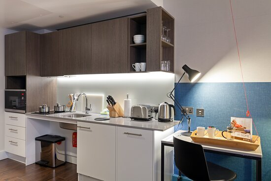 Wheelchair Accessible Studio Suite Fully Equipped Kitchen Picture Of Staybridge Suites London Vauxhall Tripadvisor