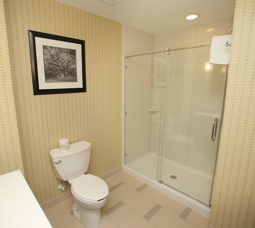Relax with a hot shower after a full day of shopping in Southport