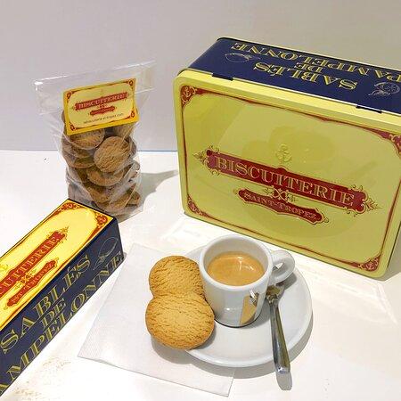 Essayez de marier les sablés de Pampelonne à un petit café !