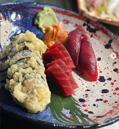 Sashimi & Tempura Maki