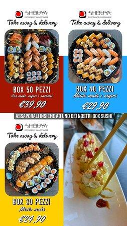 Scopri tutti i nostri piatti e i nostri BOX su:  www.shibuyaonline.it