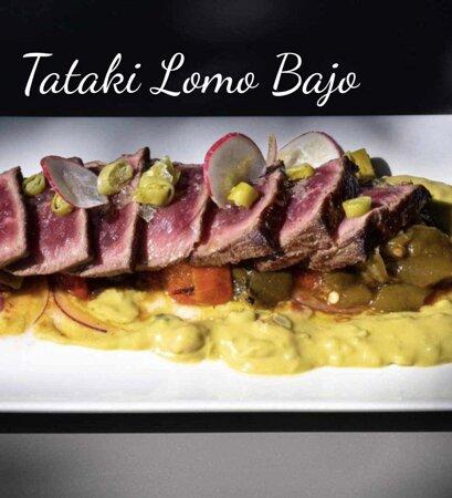 Tataki de Lomo bajo Irlandés