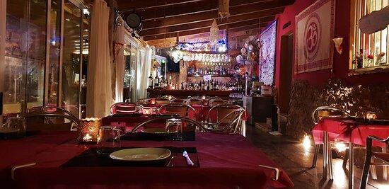 Sala interior del Restaurante